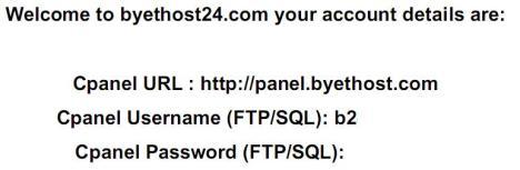 Contoh PDF hasil login