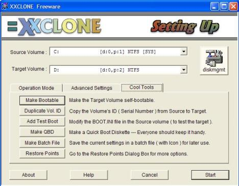 XXClone Cool Tools Tab