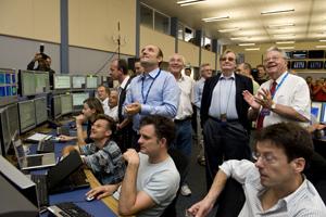 LHC's First Beam