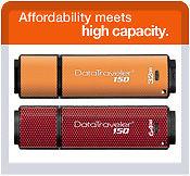 DT150/32GB  32GB* USB flash drive (2.0) - Orange DT150/64GB  64GB* USB flash drive (2.0) - Merah & Hitam